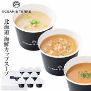 北海道海鮮CUPスープセットC